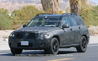 Illustration for article titled Mercedes Mini Ute to Be Called GLK, Officially