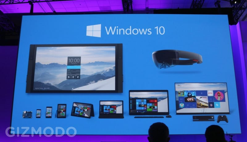 Illustration for article titled Everything We Learned About Windows 10 at Microsoft Build