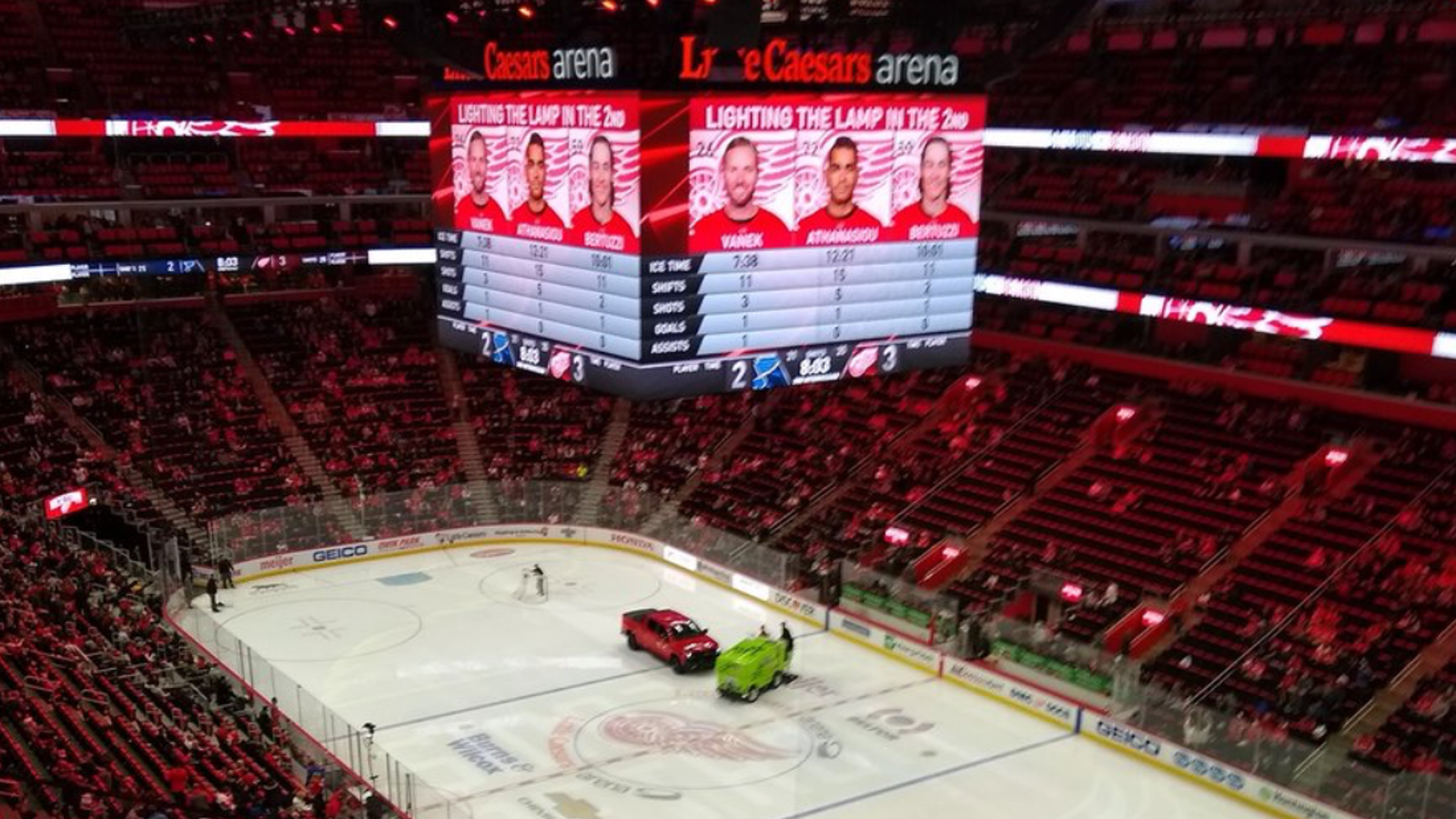 The New Chevy Silverado Trail Boss Stalling on Detroit's Hockey Arena Ice Is a Perfect Metaphor