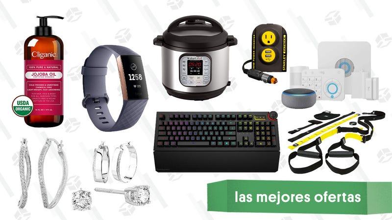 Illustration for article titled Las mejores ofertas de este viernes: Joyas de Diamond, Fitbits, sistema de seguridad Ring y más