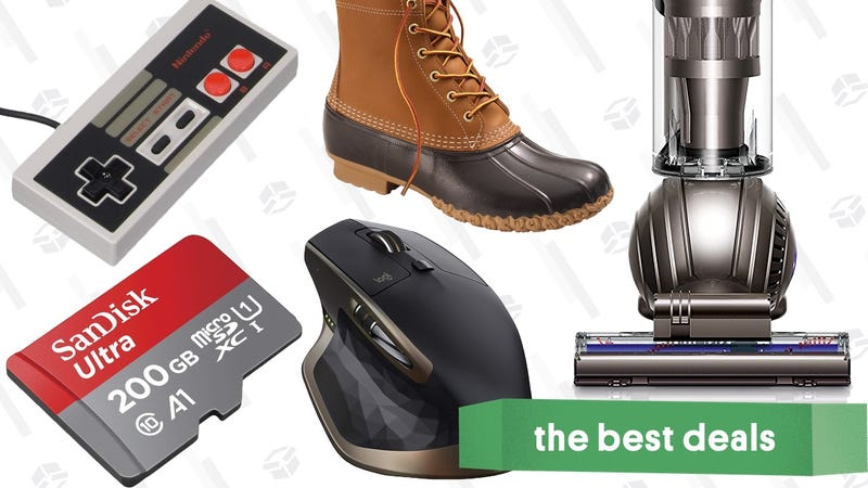 Illustration for article titled Wednesday's Best Deals: PC Storage, Logitech Gear, Bean Boots, and More