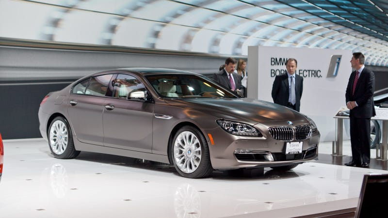 Illustration for article titled 2013 BMW 6 Series Gran Coupe: Live Photos