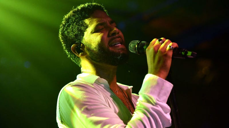 Illustration for article titled Jussie Smollett Gives First Performance Since Attack: 'Now Is the Time. Be Blacker, Be Gayer'