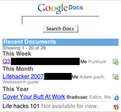 Illustration for article titled Google Docs Mobile Now Available