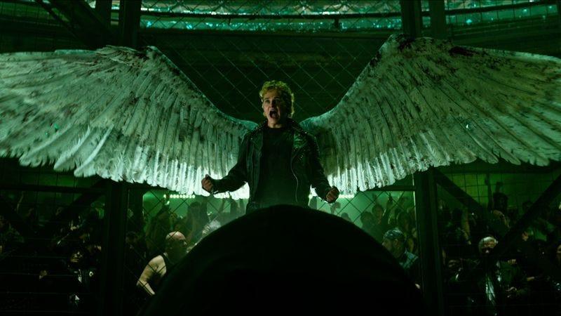 Ben Hardy as Angel in X-Men: Apocalypse (2016)