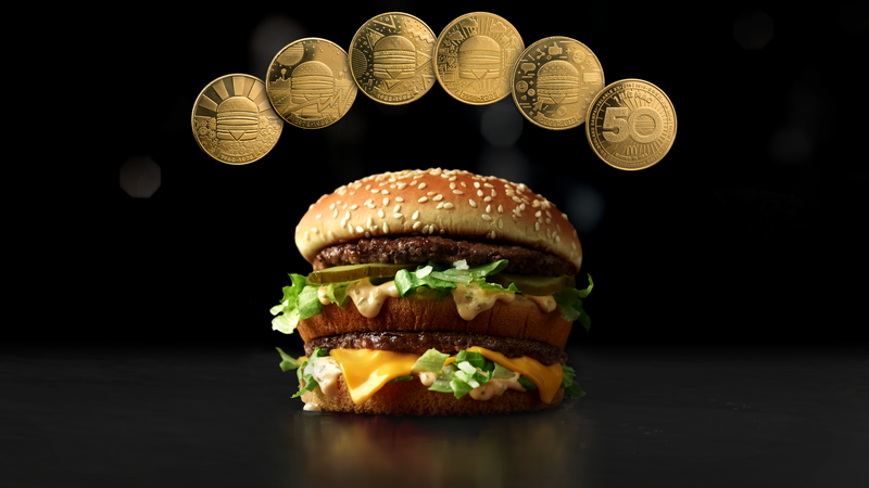 Illustration for article titled Buy a Big Mac at McDonald's today, get a MacCoin, redeemable for free Big Mac