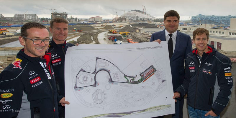 Illustration for article titled The New Russian Formula 1 Circuit