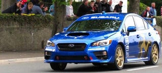 Illustration for article titled Subaru Sets New Isle Of Man Record With 116.40 MPH In A Subaru WRX STI