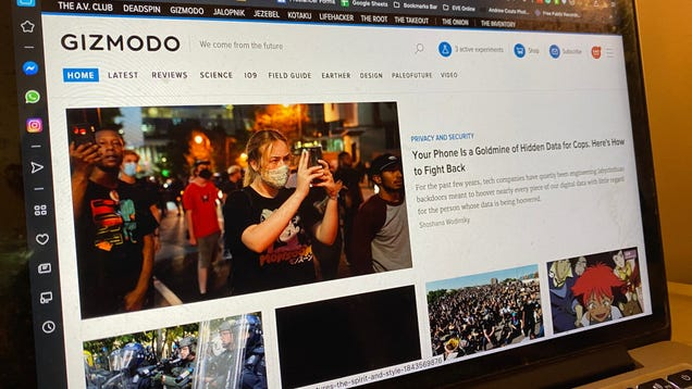 Welcome to the New Gizmodo Dot Com