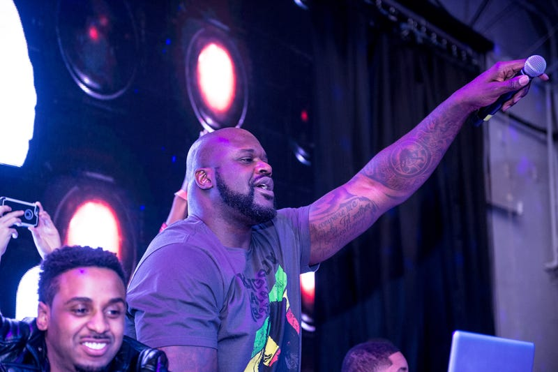 Illustration for article titled Shaquille O'Neal Is Launching a Secret EDM Festival Called 'Shaq's Fun House' for Some Reason
