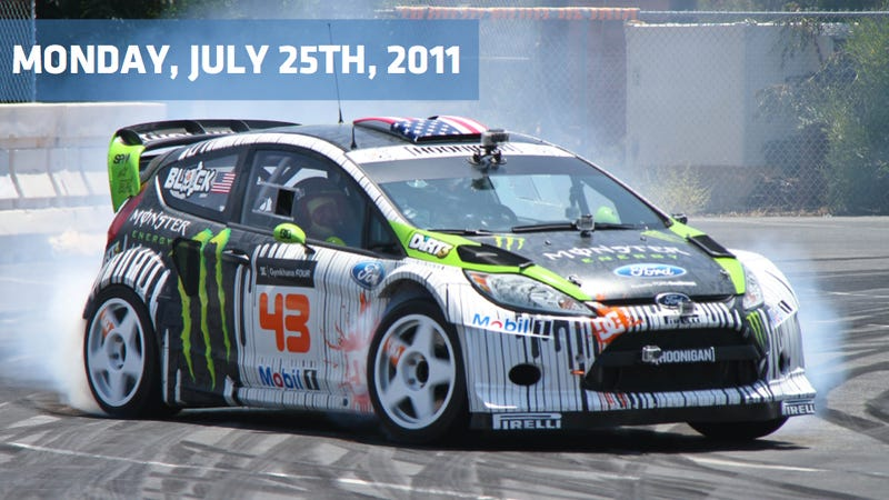 Illustration for article titled Red Bull goes off the track, Mercedes gets back in black and Ken Block goes hybrid