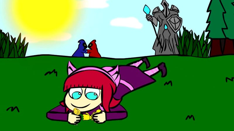 Illustration for article titled Playing Against League Of Legends' Annie In A Nutshell