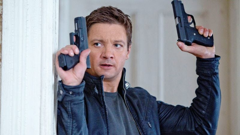 "Illustration for article titled Bourne producer says Renner-led sequel is ""moving forward"" despite Matt Damon's potential return"