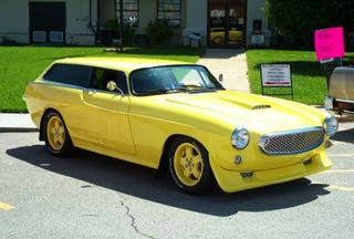 Illustration for article titled A Custom Volvo P1800ES For $24,000?