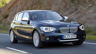 Illustration for article titled The 2012 BMW 1-Series looks like an Angry Bird
