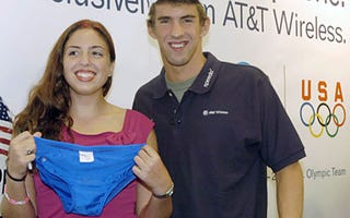 Illustration for article titled Michael Phelps' Propensity for Ho-Clocking Follows Him Everywhere
