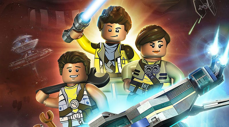 Illustration for article titled A New Animated Lego Star Wars TV Show Will Follow a Family Across the Galaxy