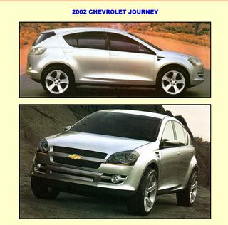 Illustration for article titled Chevrolet Journey