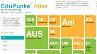 Illustration for article titled EduPunks' Atlas Sorts Free Online and Offline Educational Resources