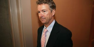GOP Kentucky Sen. Rand Paul supports the partial shutdown of the federal government. (Chip Somodevilla/Getty Images)