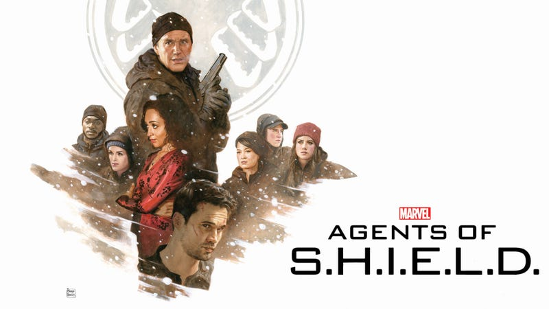 Illustration for article titled Agents of SHIELD wallpaper