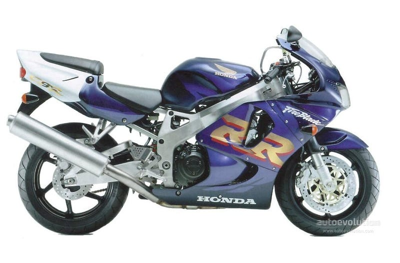 Illustration for article titled Cbr 900 Rr 1993 Usa To