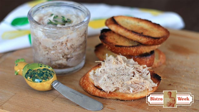 Cooking from Anthony Bourdain sLes Halles Cookbook: a show-stopping pork rillette recipe