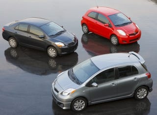 Illustration for article titled 2009 Toyota Yaris Pricing Released; Take That, Geo Metro