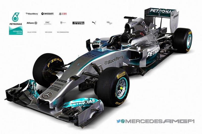 Illustration for article titled BREAKING NEWS: MERCEDES W05 ISN'T THAT UGLY