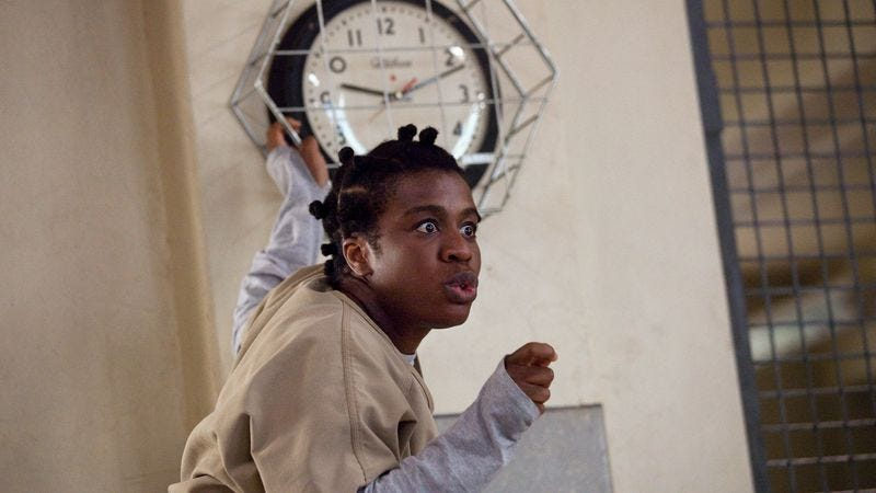 Let's all agree to never refer to her as Crazy Eyes ever again, okay?