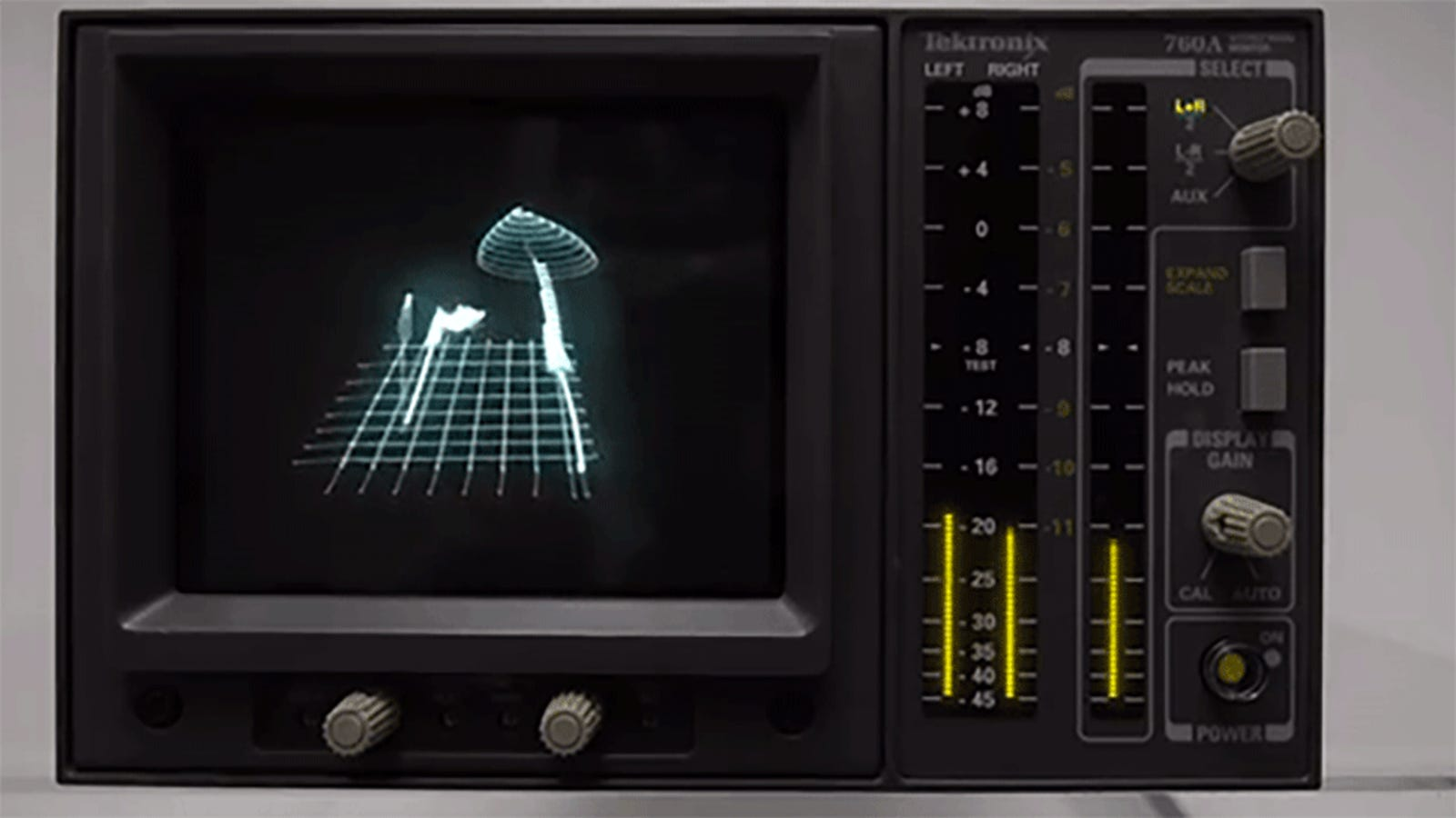 Music Designed for an Oscilloscope Looks and Sounds Cool as Hell