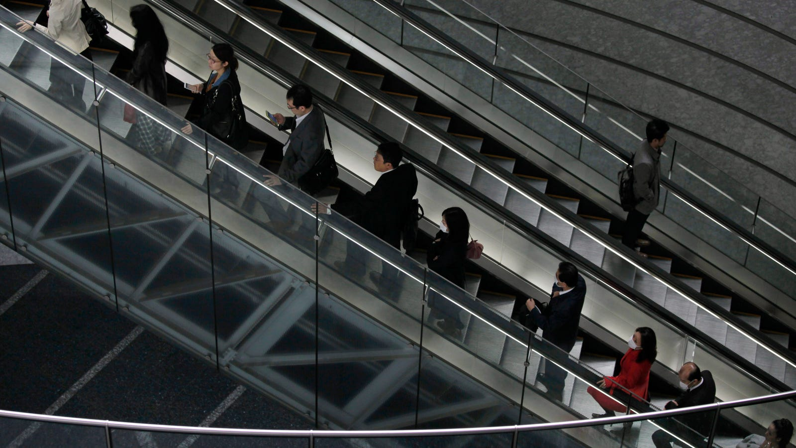 Its hard for japan to change its escalator manners