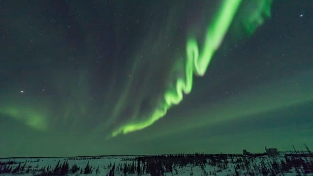 Bask in nature's majesty without getting your tootsies cold with this Northern Lights livestream