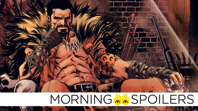 The Kraven movie has taken a tiny step closer to actually happening.