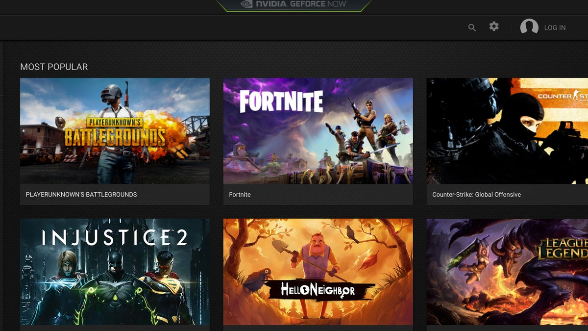 GeForce Now Will Let You Stream Games By the Hour
