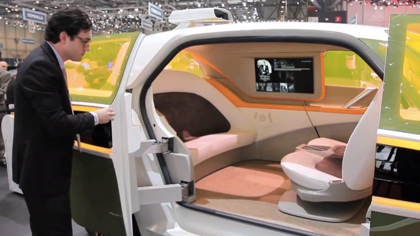 Eléctrico, autoconducido y transformable, ¿el futuro del coche?