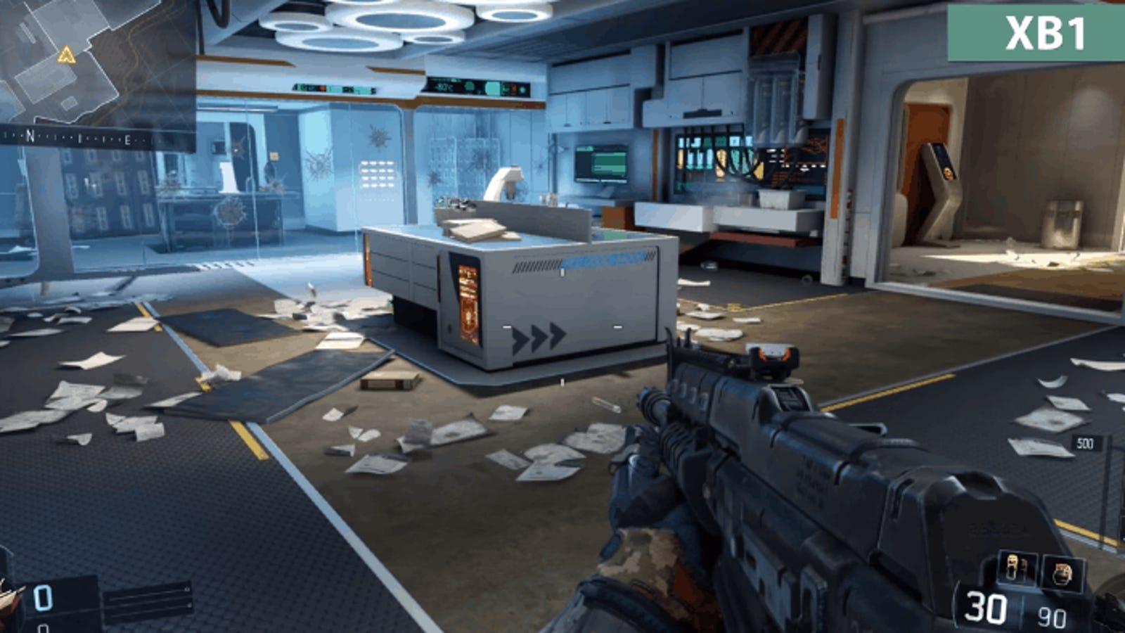 Call of Duty: Black Ops III pierde tanta calidad en Xbox 360 y PS3 que parece otro juego