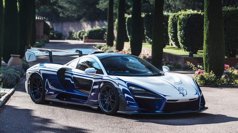 Illustration for article titled There's a Paint Job That Actually Makes the McLaren Senna Look Good