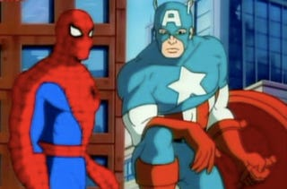 Illustration for article titled Guess Who's Not Playing Captain America And Spider-Man