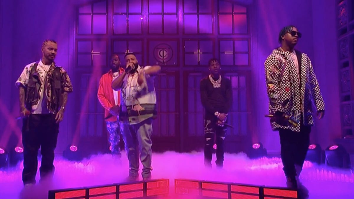 Watch: DJ Khaled Brings out SZA, John Legend, Lil Wayne, Big Sean and More For SNL Performances