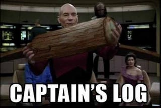 Illustration for article titled Captain's Log