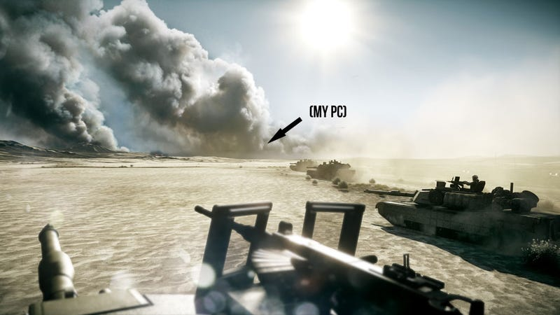 Illustration for article titled Why Battlefield 3's PC Version Is More Than Just a Game