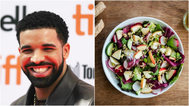 Illustration for article titled World's hardest rapper Drake now endorsed by Canadian salad chain