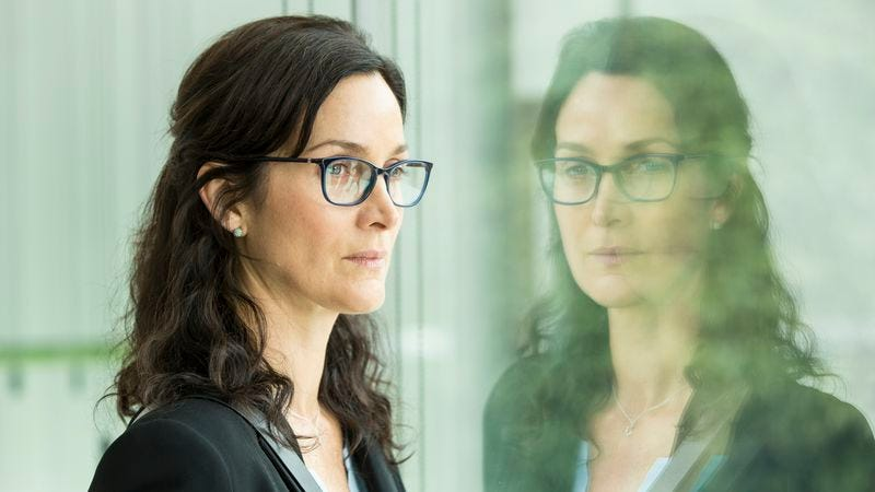 Carrie-Anne Moss joins the cast for season 2. (Credit: AMC)
