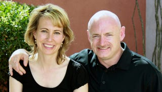 Illustration for article titled Gabrielle Giffords & Mark Kelly Will Write A Memoir