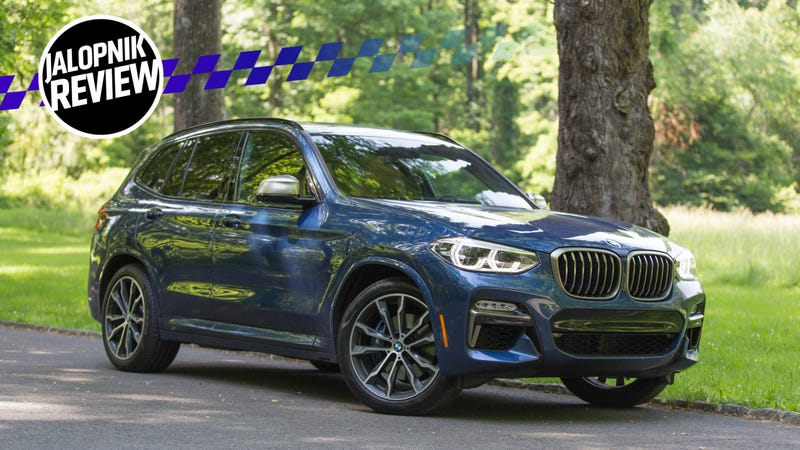 The 2018 Bmw X3 M40i Makes Crossover Apocalypse A Little More Tolerable