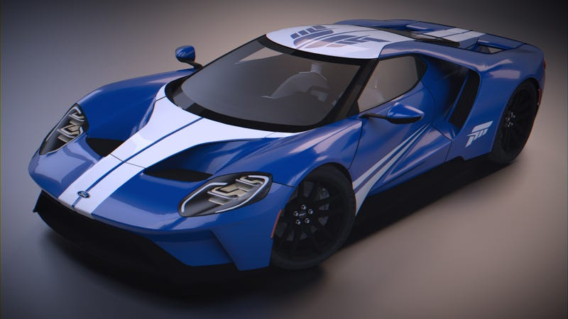 Illustration for article titled Play Trackmania Nations/United/2 with this '17 Ford GT Hot Wheels Entertainment: Forza Motorsport skin