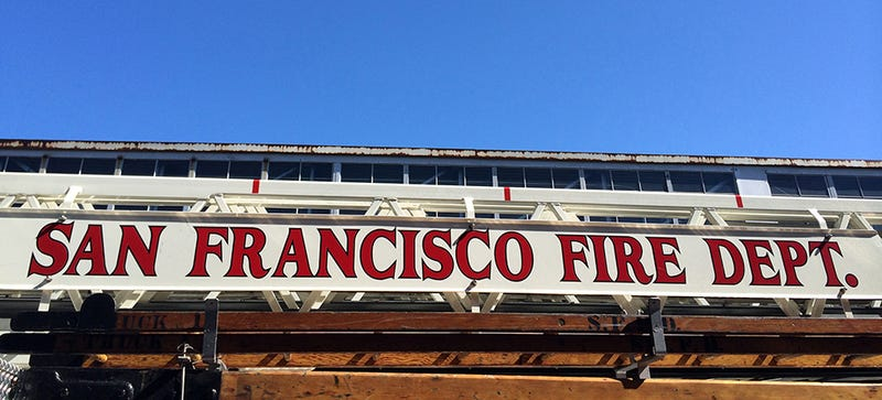 Inside San Franciso S Fire Department Where Ladders Are Made By Hand