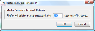 Illustration for article titled Secure your passwords with Master Password Timeout