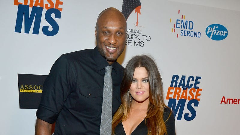 Illustration for article titled Khloé Kardashian and Lamar Odom Aren't Getting Divorced After All